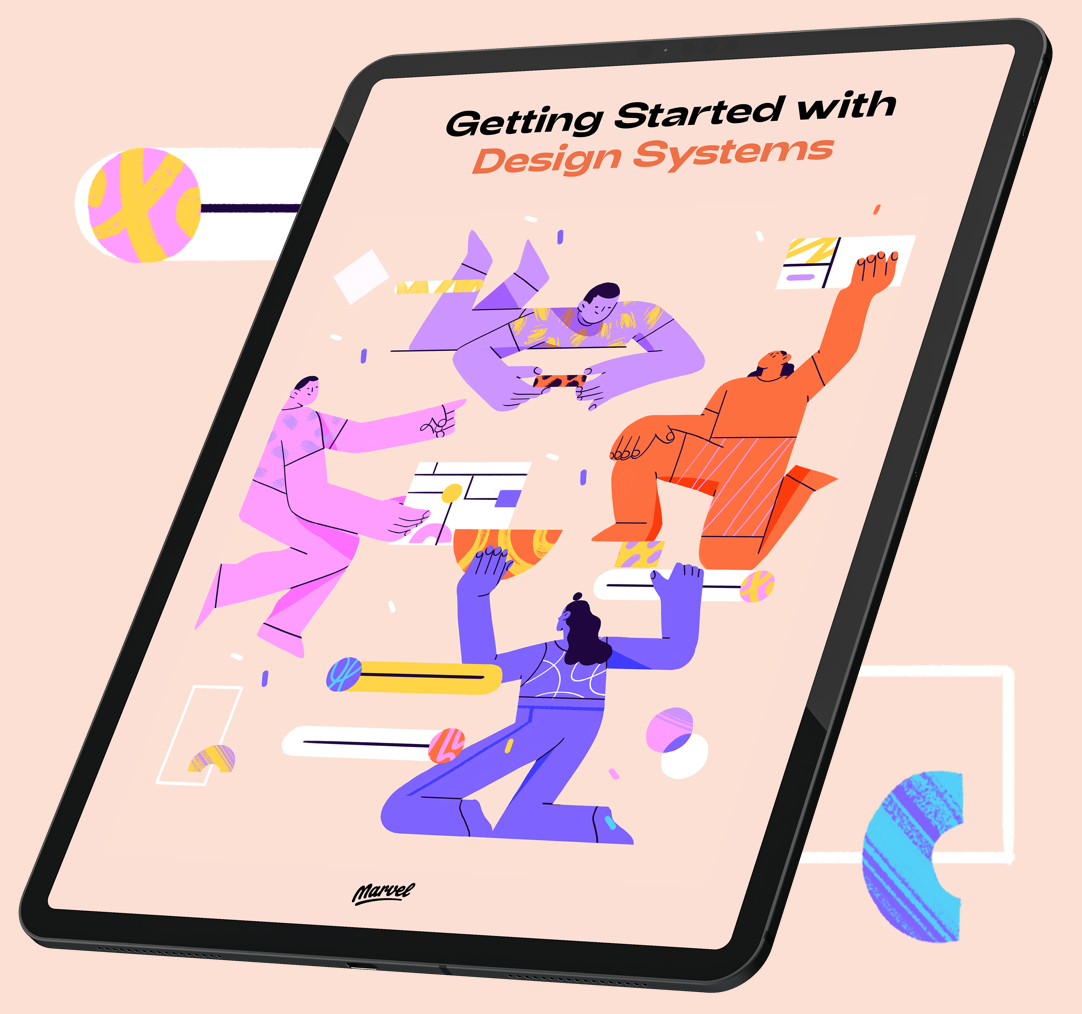 Getting Started with Design Systems on iPad.